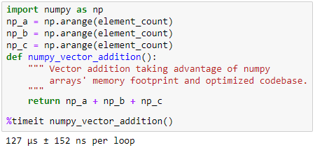 When to use Numpy